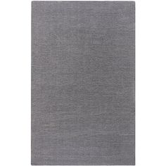 Hand-crafted Solid Grey Casual Lyan Wool Rug (8' x 11') - Overstock™ Shopping - Great Deals on 7x9 - 10x14 Rugs
