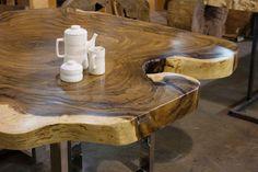 Beautiful freeform table !