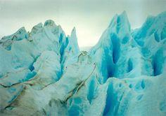 Sobre el Glaciar Perito Moreno