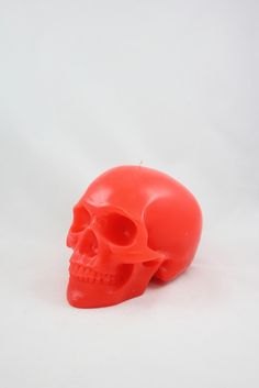 Skull Candle - Red