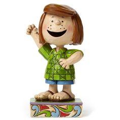 Jim Shore Fun Friend Peppermint Patty Figurine, , large