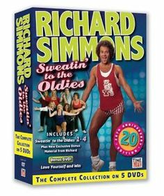 Amazon.com: The Complete Collection of Sweatin' to the Oldies: Richard Simmons, E.H. Shipley, Christopher Cohen: Movies & TV - This is a really a great workout!