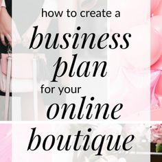 How to Choose a Name for Your Boutique - How To Start An Online Boutique? - Starting an online boutique? You need a business plan. Click through to access my free one page business plan for online boutiques