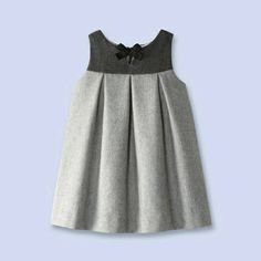 Flannel pinafore dress from Jacadione word: classy!Take a look at the timelessly elegant collections of baby, toddler and kids clothes, shoes and accessories that Jacadi designed for children of all ages.This Pin was discovered by BEL Toddler Dress, Toddler Outfits, Kids Outfits, Little Girl Outfits, Little Girl Dresses, Baby Girl Dresses, Cute Dresses, Dress Anak, Baby Dress Design