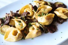 Tortelloni with Mushrooms & Zucchini   #healthy #eating #recipes