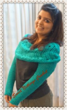Sweet Nothings Crochet: BEAUTIFUL CHEVRON-LIKE ULTIMATE INFINITY COWL WITH SLEEVES