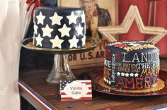Traylor Made Treats: 4th Of July Cakes