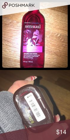 Jasmine vanilla massage oil new New only smelled once lol and it's good=•) jasmine and vanilla massage oil bath and body works buy 2bath and body items get $2off just comment and I'll change price you still get the bundle discounts Other