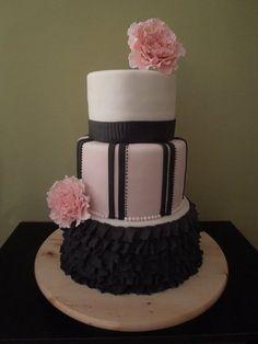 bachelorette cake - by joy cupcakes NY @ CakesDecor.com - cake decorating website