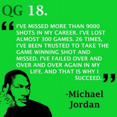 Success isn't defined by perfection  #quote #jordan