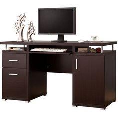 Realspace 174 Shore Mini Solutions Computer Desk With Hutch