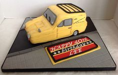 Only Fools & Horses 40th Birthday Cake