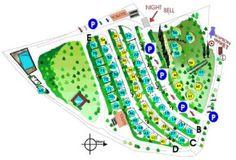 semifonte Camping Map