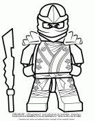 Cartoon Network Lego Ninjago Cole Kx Coloring Page