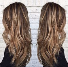 Latest Ideas for Brown Hair with Red and Blonde Highlights - Hairstyle For Women