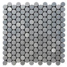 Stainless Steel Circles Sample by Subway Tile Outlet, http://www.amazon.com/dp/B00CIZ4II0/ref=cm_sw_r_pi_dp_Qss9rb15PJYX5