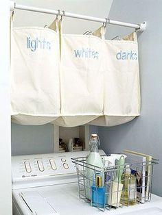 Cestos de roupas sujas!