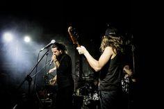 The Black Cat Bones performing live at The GoodLuck Bar. Johannesburg