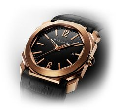 BVLGARI Octo Watch in Pink Gold at London Jewelers!