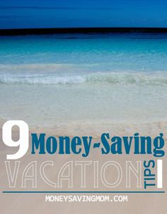 How to save money on vacations and traveling...