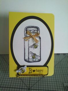 Bee happy any occasion card :-)