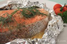 Recipe: Easy oven-baked salmon trout with butter and parsley