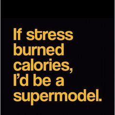 Stressed out Supermodel? Ok!