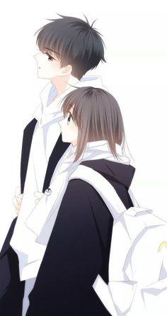 Anime Cupples, Anime Chibi, Kawaii Anime, Anime Guys, Romantic Anime Couples, Anime Couples Drawings, Anime Couples Manga, Manga Couple, Anime Love Couple