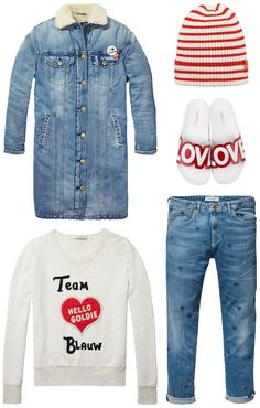 Must love this outfit: Maison Scotch, Barts and The White Brand | Available at www.eb-vloed.nl