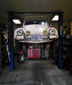 '67 Volkswagen Beetle — Automotive Shops & Our Vintage Cars   1967 VW Beetle.