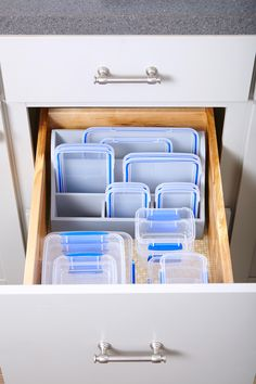 Kitchen Storage Boxes with Lids New Genius Food Storage Container Hacks In 2020 Kitchen Cupboard Organization, Kitchen Storage Boxes, Fridge Storage, Kitchen Drawers, Cupboard Storage, Large Food Storage Containers, Storage Boxes With Lids, Storage Ideas, Drawer Ideas