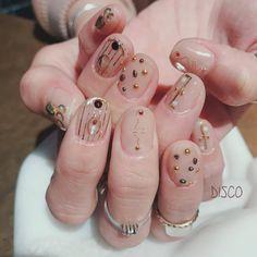 Asian Nail Art, Asian Nails, Korean Nail Art, Korean Nails, Kawaii Nail Art, Graduation Nails, Cute Halloween Nails, Soft Nails, Short Nails Art