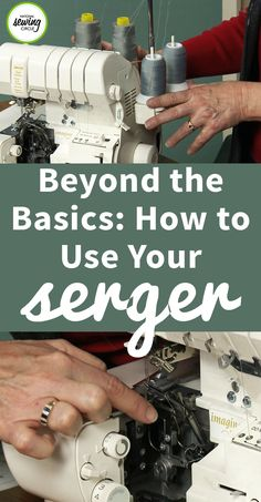 If you've already started using your serger and are ready to move beyond the basics, this class is for you. Take time to broaden your horizons and learn about the advantages of using accessories available for your serger. This class will focus on two workhorse accessories that will make your life easier: the blind hem foot and the gathering foot.