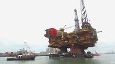 VIDEOS: Shell's Brent Delta arrives at final destination