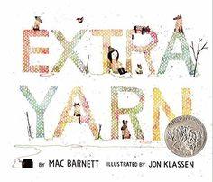 Extra Yarn by Mac Barnett http://smile.amazon.com/dp/0061953385/ref=cm_sw_r_pi_dp_g2kqwb136NYNY