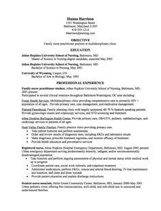 Nurse Practitioner Resume Example Resume Examples Nurse  Nurse Practitioner Resume Examples