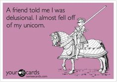Who doesn't believe in unicorns?