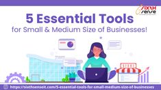 Read our new #blogpost. In this blog, we are talking about the 5 Essential Tools for Small  Medium Size of Businesses that not only increase #business efficiency but enhance the overall #profit as well. #sixthsenseitsolutions #tools #SMEs #MSMEs #techngrow #IoT #smallandmediumbusinesses #technews #blogging #businesstools #CRM #ERP #HRMS #PoS #pointofsalesoftware #softwaresolutions #growthhackings #technologies #postcorona #staysafestayhealthy #stayhome #india Crm Tools, Leadership Skill, Customer Relationship Management, Business Intelligence, Business Help, Sales And Marketing, Business Management, Pos