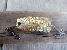 Gun Bullet Fishing Lure Upcycled Recycled by CandTCustomLures, $8.00
