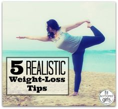 5 realistic weight-loss tips from a reader who's doing the dang thing! | via @FitBottomedGirl