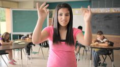 """D-PAN ASL Music Video """"We're Going To Be Friends"""" by the White Stripes...my ASL teacher showed us this video, love it!"""