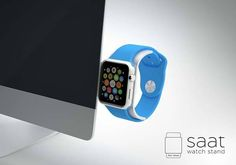 The Modern Apple Watch Charging Stand Works with Your iMac