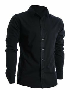 FLATSEVEN Herren Slim Fit Basic Hemden Langarm (SH400) FLATSEVEN, http://www.amazon.de/dp/B008LWDEUC/ref=cm_sw_r_pi_dp_L6TNtb05N40WX