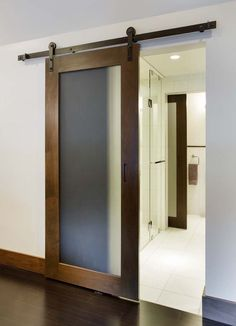 modern glass barn doors - Google Search More