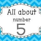 This unit is designed to help your students understand everything about number five. There are a booklet, games, flash cards (number sentences 0-5)...