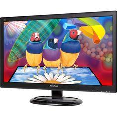 """ViewSonic - 23.6"""" LED HD Monitor - Black"""