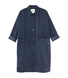 denim spring coat