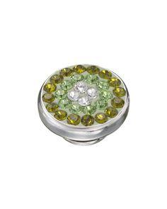 Kameleon Peridot Sparkle Swarovski Crystal JewelPop  Available at: www.always-forever.com
