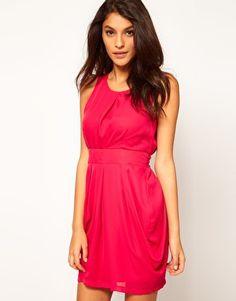 sale $21 ASOS Tulip Dress with Tie Back