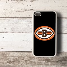 NEW NFL Cleveland B Browns B HYBRID iPhone 4 4s Case Cover SILICONE - PDA Accessories